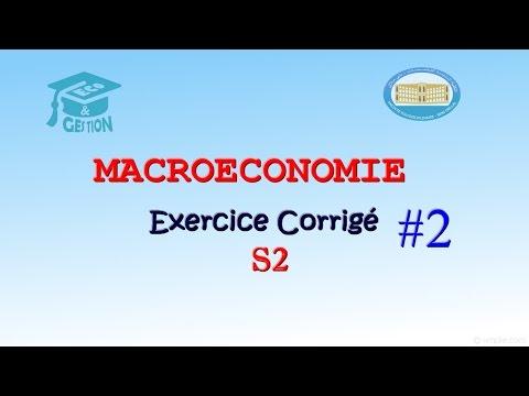 macroéconomie exercice corrigé s2