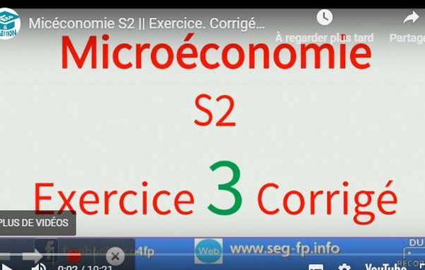 microeconomie s2