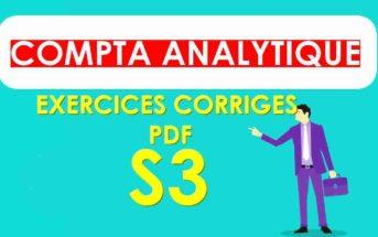 comptabilité analytique S3 exercices corrigés [PDF]
