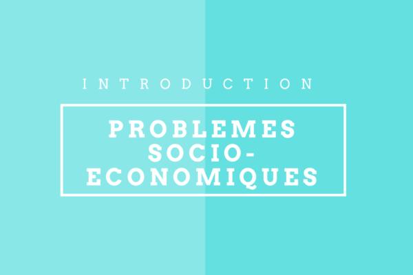 problemes economique et sociaux