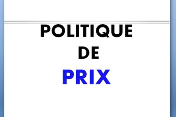 la politique prix en marketing