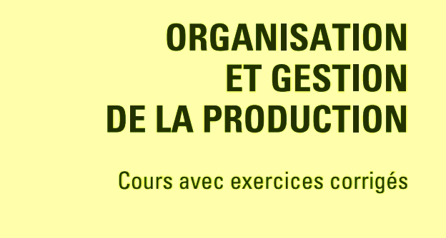 cours gestion de production