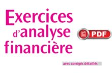 analyse financiere s4 exercices corrigés pdf