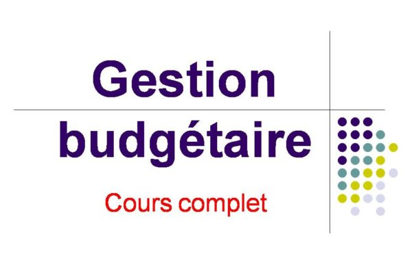 Gestion Budgetaire Cours