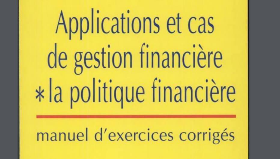 gestion financière cours et exercices corrigés pdf