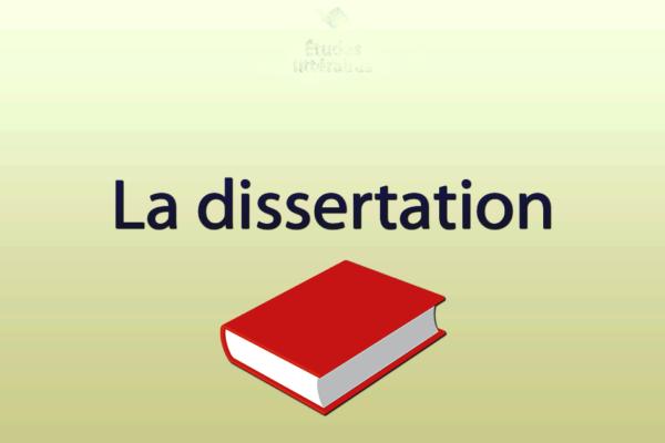 rédiger une dissertation pour un concours