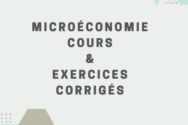 cours et exercices corrigés de microéconomie s1 PDF