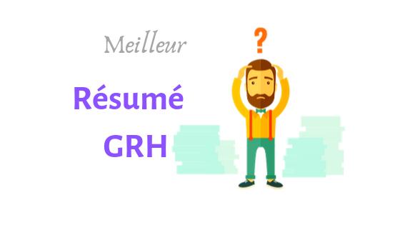 résumé cours GRH PDF