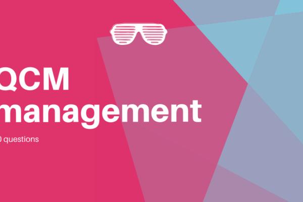 QCM management des entreprises S1