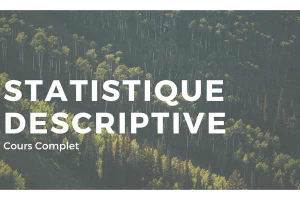 introduction à la statistique descriptive cours
