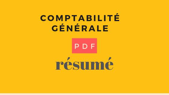 résumé de comptabilité générale s1 pdf