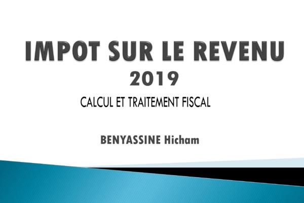 impôt sur le revenu Maroc 2019 - IR cours