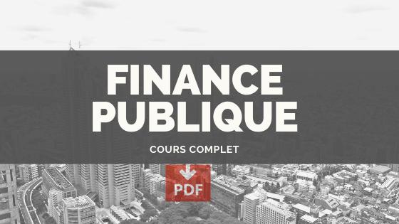 Economie publique cours pdf - de A à Z