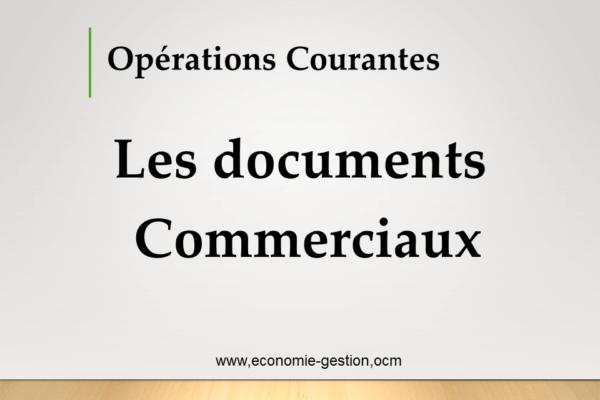 documents commerciaux cours pdf