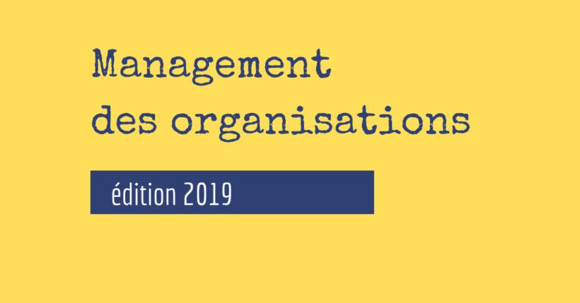 livre de management des organisations PDF