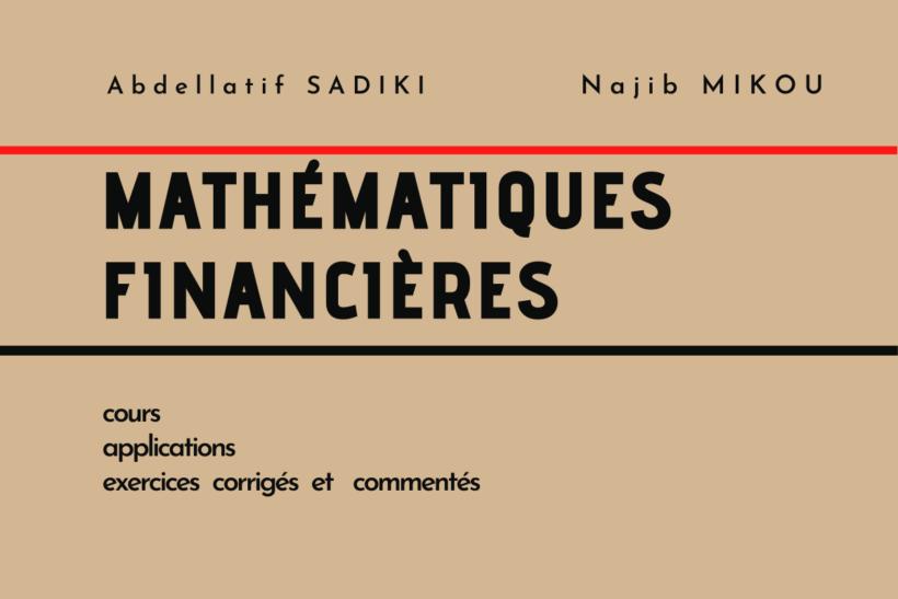Livre de mathématiques financières exercices corrigés PDF - Sadiki