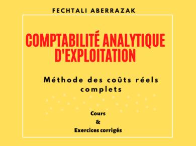 Livre de comptabilité analytique fechtali PDF