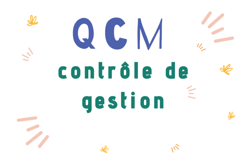 37 QCM corrigé de contrôle de gestion PDF