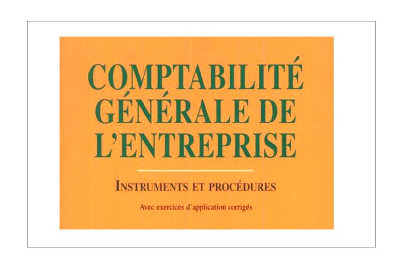 comptabilité générale de l'entreprise PDF