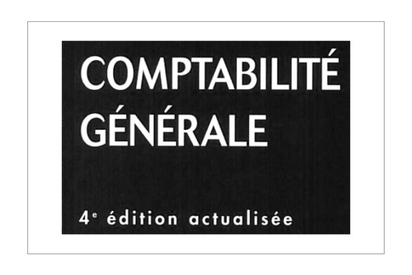 livre de comptabilité générale pdf