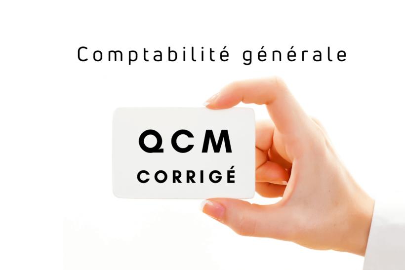 QCM comptabilité générale s1 corrigé