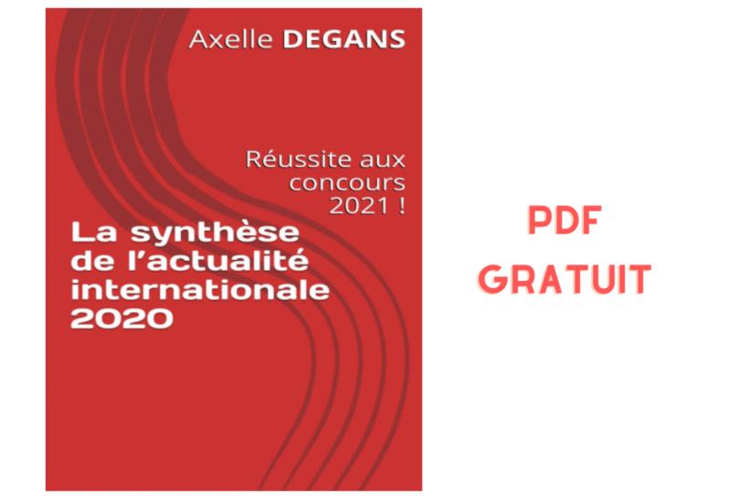 actualité internationale 2020 2021- livre PDF